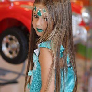 szülinapi zsúr arcfestés jelmez